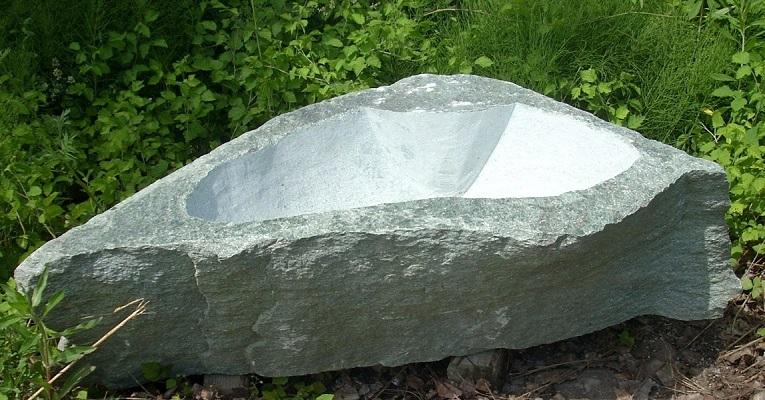 Brunnen garten stein